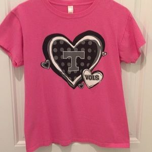 Tennessee VOLS Hot Pink graphic tee